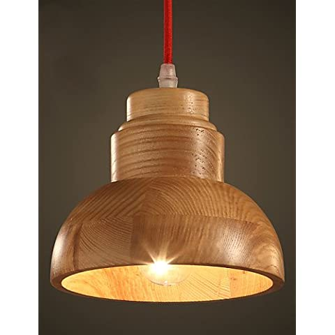 MAX 60W tradizionale rustico classico // / rustico rurale Mini correzione di stile articolo legno/bamboo illumina Ciondolo soggiorno / ,