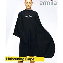 Ermila - Peinador (con cierre de velcro), color negro