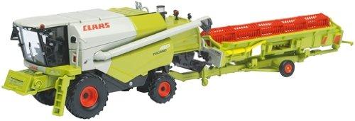 Preisvergleich Produktbild Schuco 452568200 - Claas Tucano 450 mit Anhänger, 1:87