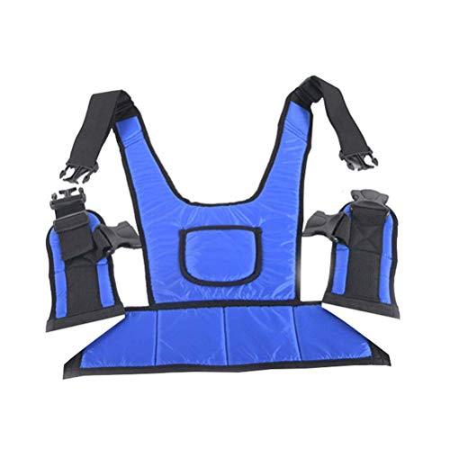 YAMEIJIA Medizinischer Sicherheitsgurt, Verstellbarer Rollstuhlsitz Feste Gurtschutzkleidung für ältere Patientenpflegeprodukte,M