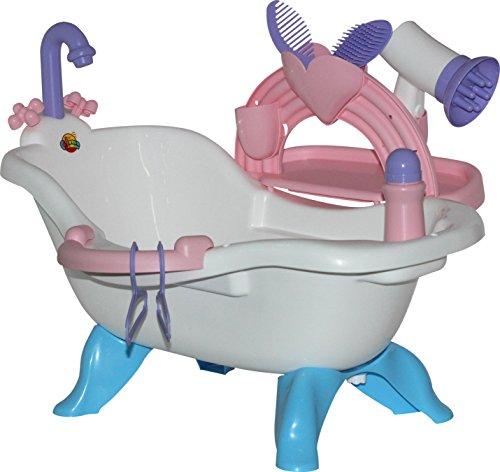 Baño de muñecas con accesorio