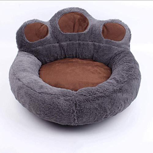BAIJJ BianMei Pet Lounge Hundebett, Abnehmbarer und waschbarer Deckel mit YKK-Reißverschlussbett Katze und Hund (Farbe: Dunkelgrau, Größe: XL) -