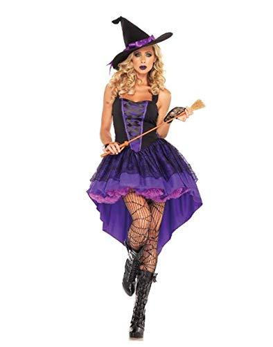 MSSugar Hexe Rollenspiel mädchen Kleid Cosplay Party kostüm Erwachsene Frauen Weihnachten Halloween Festival/weibliche Karneval - Jester Kostüm Weiblich