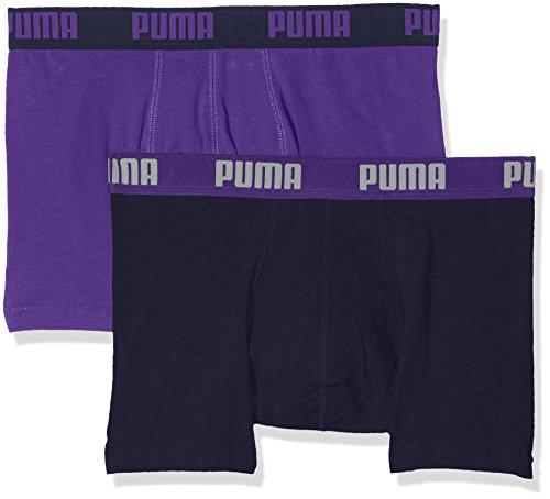 Puma–Boxer da uomo Basic Boxer 2paia purple/peacoat