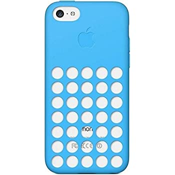 Apple MF035ZM/A Etui pour iPhone 5C Bleu