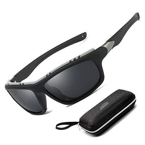 Perfectmiaoxuan Gafas Sol polarizadas Hombre Mujer/Golf