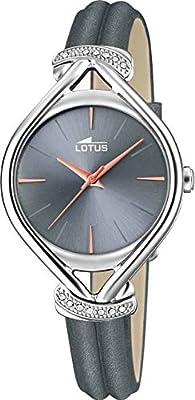 Lotus Reloj Analógico para Mujer de Cuarzo con Correa en Cuero 18399/2