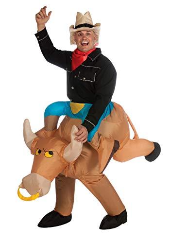 Kostüm Bull Rider - Inflatable Bull Rider Fancy dress costume Standard