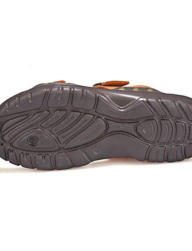 NTX/Herren Schuhe Outdoor/Casual Flip Flops, Schwarz/Braun orange-us7.5 / eu39 / uk6.5 / cn40