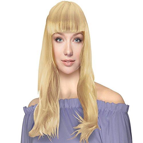 gen Bob Cabaret Wig (Blond) (Blonde Irokesen Perücke)