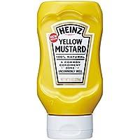 226gX4 este amarillo mostaza Heinz reves botella