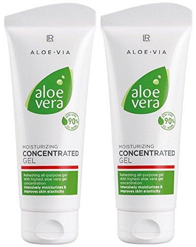 Feuchtigkeitsspendende Körper-spray (LR ALOE VIA Aloe Vera Gelkonzentrat Konzentrat Feuchtigkeitsgel (2x 100 ml))