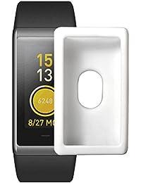eb5e66c00f25 Reloj Estuche Protector para la Banda de Ejercicios Huami AMAZFIT Cor  Cubierta Completa de Silicona Suave de TPU Funda Protectora ❤ …