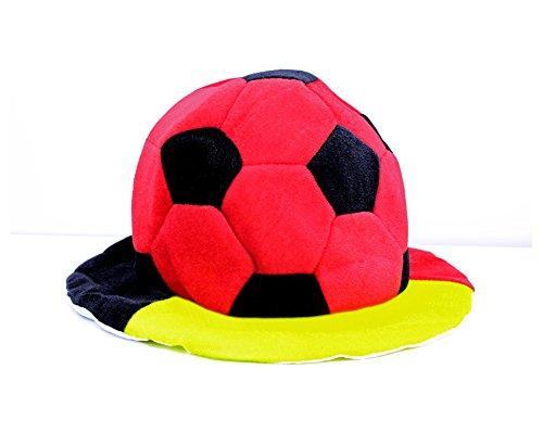 ZaPro Fan Hut/Deutschland Russland Frankreich Kroatien/Sonnen Schutz Accessoires/Mann Frau Kinder Fan/WM EM Sport Fußball Fussball 2018 (Deutschland)
