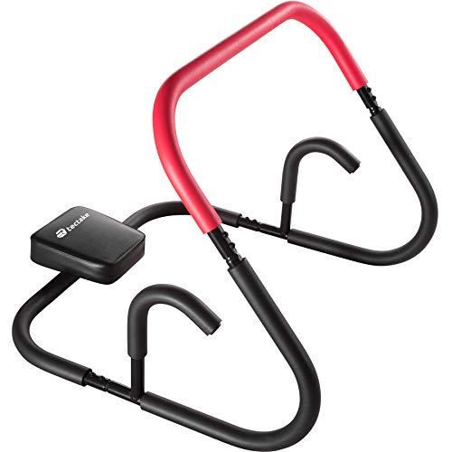 TecTake Bauchmuskeltrainer Fitnessgerät für Sit-Ups Rückentrainer