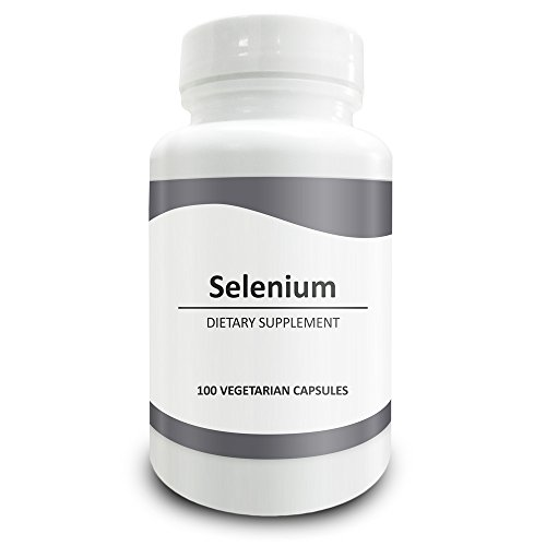 Le Sélénium de Pure Science 300mcg - stimule l'immunité & soutien antioxydant, améliore l'écoulement du sang et la santé coronaire, régule l'humeur et la fonction thyroïdienne - 100 Capsules végétariennes