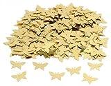 Table Confetti - Accessoire Mariage - Confettis - Sac de 14g - Petits Papillons Dorés...