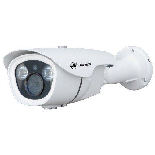 Jovision LAN IP Bullet Kamera für Indoor und Outdoor, Power over Ethernet (PoE), 2 MegaPixel, 2MP, Full HD, 1080P, Innenkamera, Außenkamera, Überwachungskamera, Sicherheitskamera, Netzwerkkamera, Email Alarm, Spritzwasser und staubgeschützt (IP66), Hochleistungs Infrarot LED (2MP PoE Linse 2.8-12mm)
