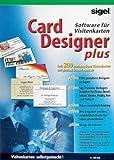Sigel Software BusinessCard-Designer, Set mit 200 Visitenkarten, SW660 -
