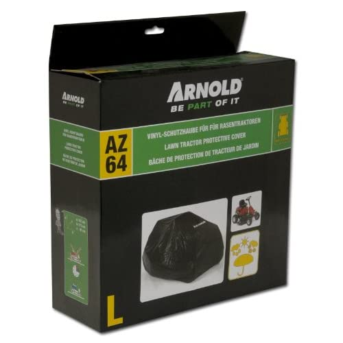 Arnold 2024-U1-0003 Protective Cover for Ride-On Lawnmower Size L