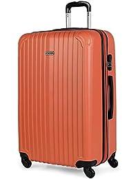ITACA - Maletas de Viaje Rígidas 4 Ruedas Trolley ABS. Neceser. Resistentes y Ligeras. Mango Asas y Candado. Pequeña Cabina Low Cost…