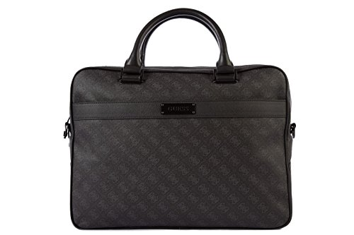 Guess sac porte-documents homme noir