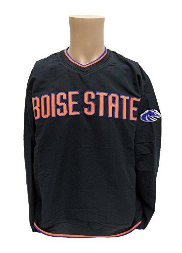 Donegal Bay NCAA Boise State Broncos Wind Jacke, Unisex, anthrazit, X-Large (Broncos Jacke)