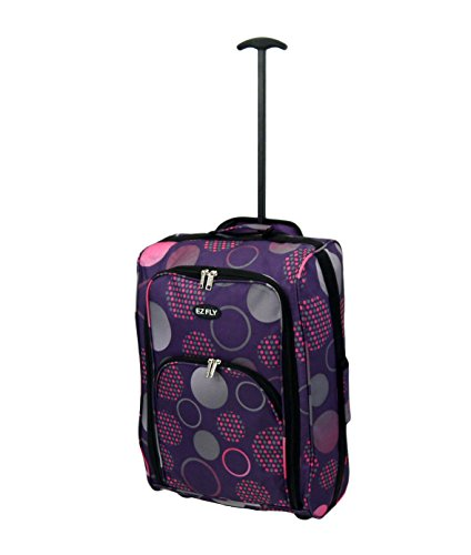 ryanair-cabin-size-lightweight-hand-luggage-carry-on-bag-trolley-suitcase-purple-pink-circle