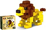 #3: Saffire Play and Create Animal Builders Block Set, Multi Color (58 Pieces)