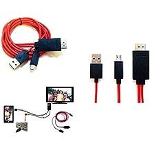 Mondpalast @ Cable MHL de Micro USB a HDMI - HDTV Adaptador para Sony Xperia Z3 , z3 compact , z3 tablet compact