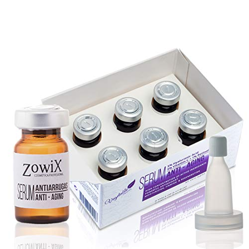 Antiarrugas facial Piel Grasa. Serum vitamina C, Acido Hialuronico y Retinol. Un Serum natural ideal para piel grasa. Triple accion. Reafirmante, Reduce Arrugas y Regenera. Sin Parabenos.