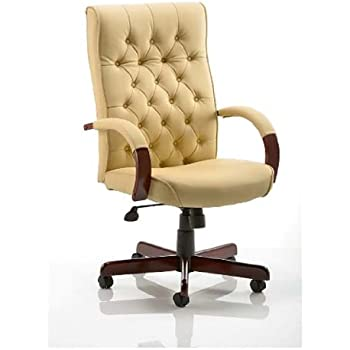 Lovely Chesterfield Cream Colour Office Chair