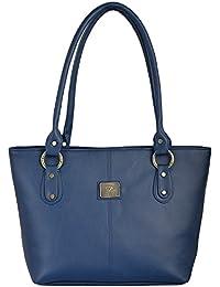 Fostelo Women's Messenger Shoulder Bag (Blue) (FSB-571)