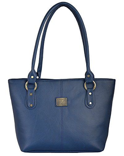 Fostelo Women\'s Messenger Shoulder Bag (Blue) (FSB-571)