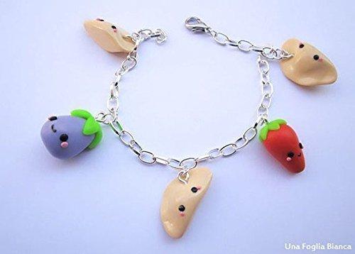 bracciale-frutta-verdura-fruit-charm-cute-fimo-cernit-handmade-polymer-clay
