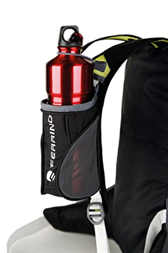 Ferrino X-Track Bottle Holder Porta Borraccia per Zaino, Nero