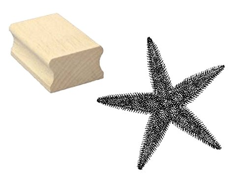 sello-sellos-de-madera-diseno-sello-estrella-de-mar-scrapbooking-embossing-manualidades-bucear-ocean