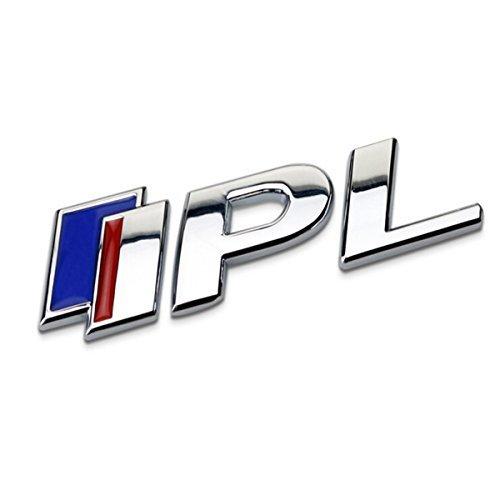 TK-KLZ Infiniti 3D Metall High Performance Logo-IPL-Infiniti Performance Line-Premium KFZ Seite Fender Hinten Trunk Emblem für Infiniti Q50FX35FX37F50von G37QX70QX60EX35G35Dekoration