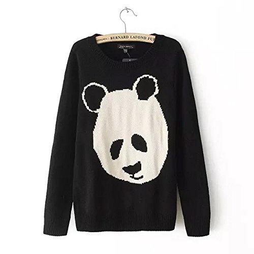 XM Autunno e inverno maglione / bella panda donne modello