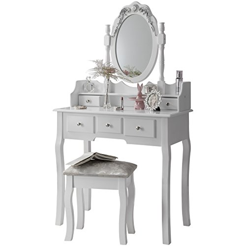 Capri | Dressing Table, Mirror U0026 Stool ...