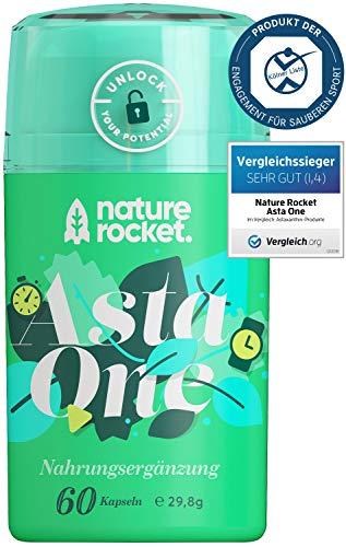 Natürliches Premium Astaxanthin 4mg   Vegetarisches Nahrungsergänzungsmittel   60 Kapseln   Hergestellt in Deutschland