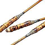xihongshi Canna da Pesca 28 Ultraleggera e Super-Dura, Canna da Pesca in Carbonio a Mano, Canna da Pesca in bambù, Fatta a Mano 3.9M