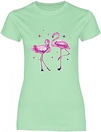 5e62b0e0fd2028 Suchergebnis auf Amazon.de für  Flamingo - Grün   T-Shirts   Tops ...