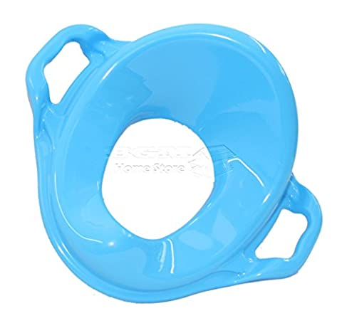 Dunya Plastik Turquoise Baby Toddler Safety Potty Training Adaptor Toilet Seat With Handles(Turquoise) by Dunya plastik