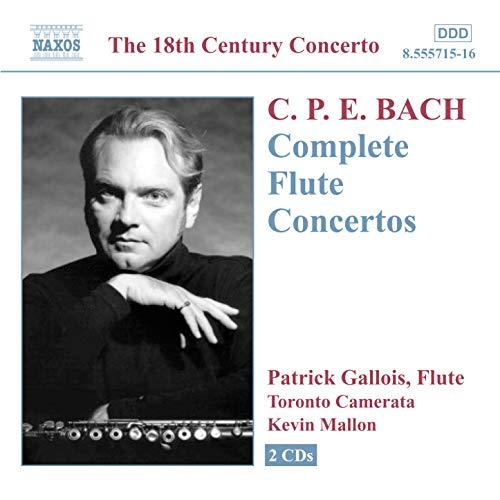 ... Bach, C.P.E.: Flute Concertos .