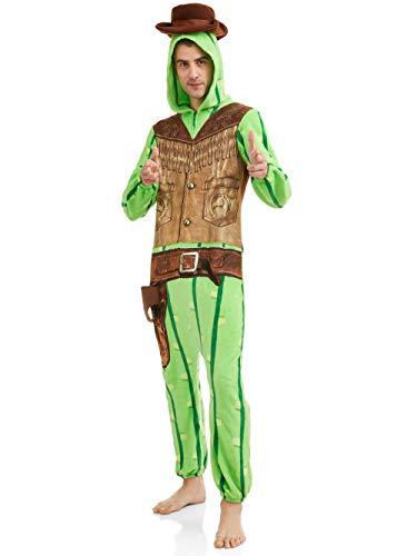 Briefly Stated Lookin' Sharp Cactus Union Anzug für Herren - Mehrfarbig - Large