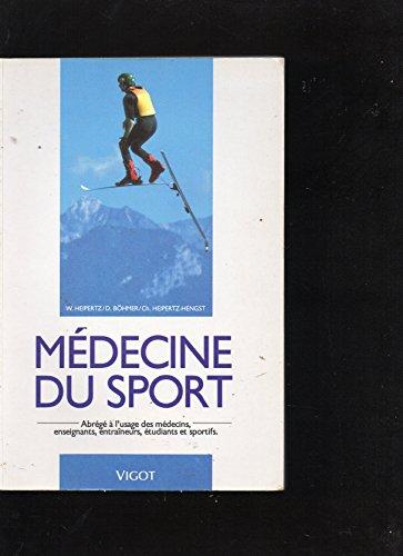 Médecine du sport par Wolfgang Heipertz