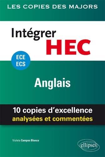 Intgrer HEC  ECE/ECS  Anglais
