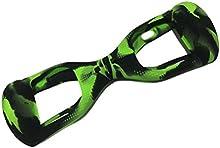 wisamic funda de silicona verde para 6,5pulgadas Smart Self Balancing Patinete eléctrico Hover tarjeta