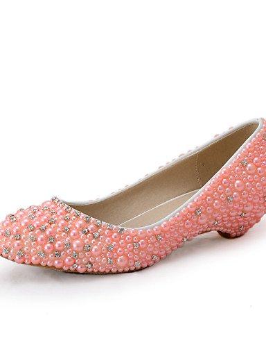 WSS 2016 Chaussures de mariage-Rose-Mariage / Habillé / Soirée & Evénement-Compensées-Talons-Homme under 1in-us5.5 / eu36 / uk3.5 / cn35